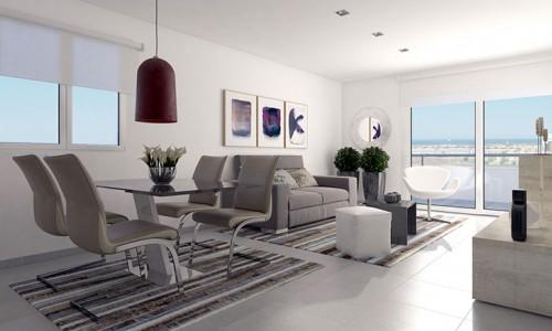 Новые апартаменты с видом на море в Кампоамор от 116.000 евро
