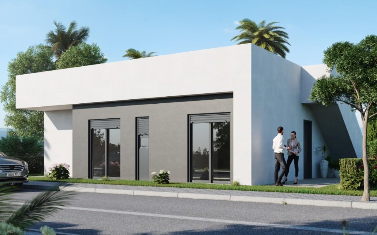 Строительство новых вилл в регионе Мурсия  Condado de Alhama от 139.900 евро