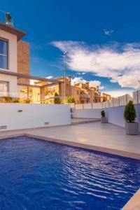 Nuevas lujosas  Villas en Orihuela Costa , Las Filipinas , Villamartin