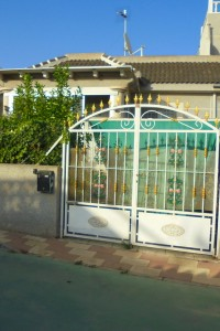 Bungalow with the garden and solarium 2 bed  in la Siesta