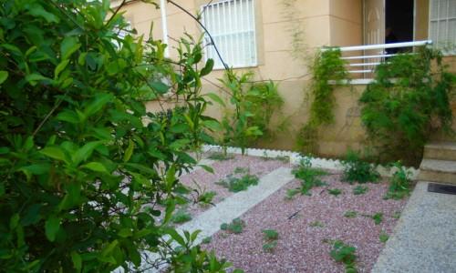 Апартаменты с садом и большой террасой в здании с бассейном  в Новой Торревьехе