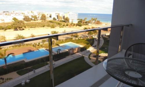 Квартира с видом на море в миль пальмерас 2 спальни