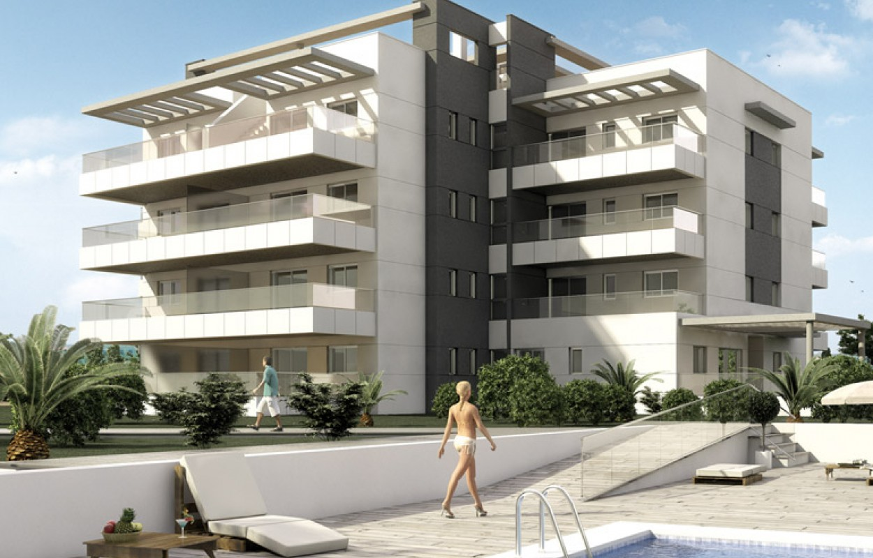 Новые апартаменты в Ориуэла Коста