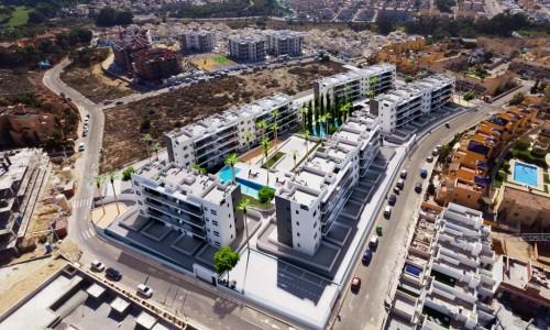 Новые апартаменты на ориуэла Коста с 2 спальни 2 санузла  от 139.000 евро