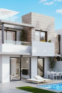 New Detached Villas in Blue lagoon Orihuela Costa from 259000€