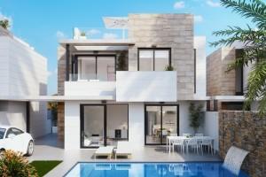 Villas de obra Nueva en Orihuela Costa Blue Lagoon desde 259.000 euro