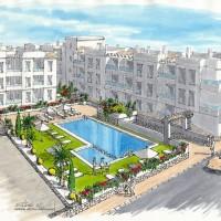 La construction de nouveaux appartements à Torrevieja ,Penthouse  prix 190.000€