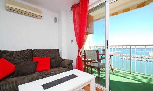 Квартира в Торревьехе на превой Линии Моря  159.900 евро
