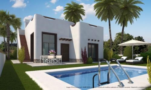 Новые Виллы с бассейном в Съюдад Кесада стоимостью от 227.000 евро