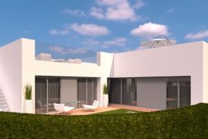 Nouvelles villas à Pilar de la Horadada à partir de 226 900 €.