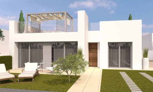 New villas in Pilar de la Horadada from € 226,900.