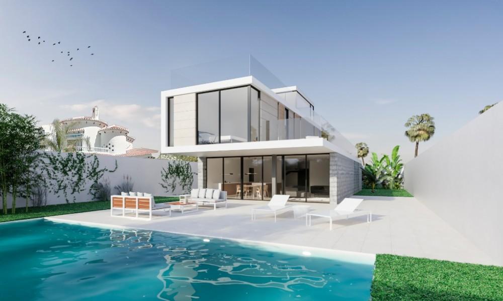 Новый проэкт Домов в ла Зения в 200 м от пляжа